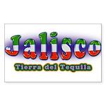 Tierra del Tequila Sticker (Rectangle 10 pk)