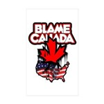 BLAMECANADA Sticker (Rectangle 10 pk)