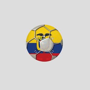 Ecuador Flag World Cup Football Futbol Soccer Ball