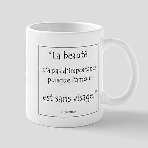 L'amour Sans Visage Mug