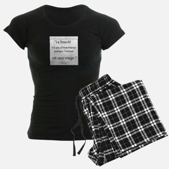 L'amour Sans Visage Pajamas