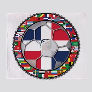 Dominican Republic Flag World Cup Futbol Soccer F