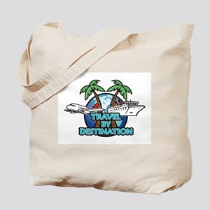 Travel By Destination Tote Bag