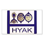 tshirt_hyaklogo          Sticker (Rectangle 10 pk)