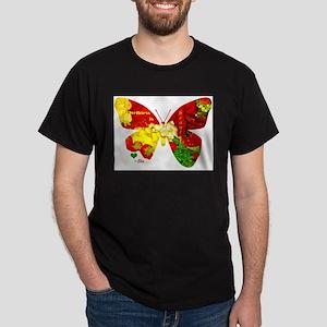 Wellness Butterfly Dark T-Shirt