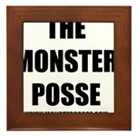 Monster Posse Framed Tile