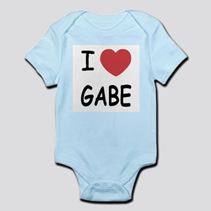 i heart gabe Infant Bodysuit