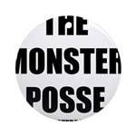 Monster Posse Ornament (Round)