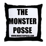 Monster Posse Throw Pillow