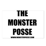 Monster Posse Postcards (Package of 8)