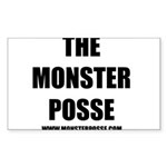 Monster Posse Rectangle Sticker