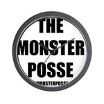 Monster Posse Wall Clock