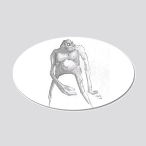 Creature 20x12 Oval Wall Decal