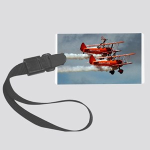 Ride Them Wings! Large Luggage Tag