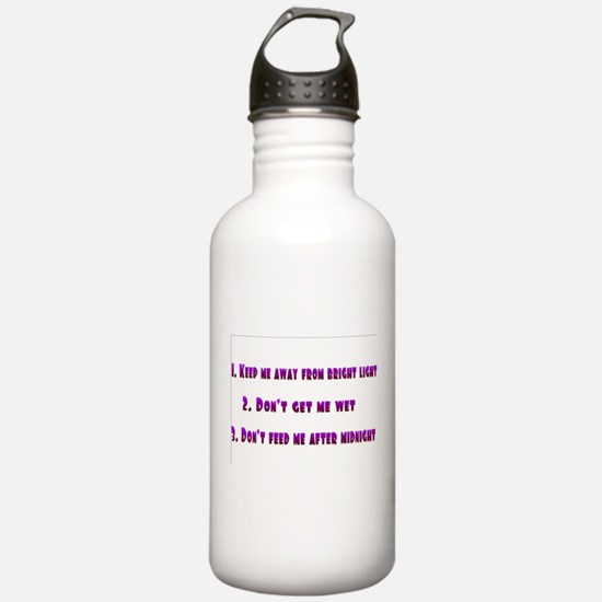 gremlin rules Water Bottle