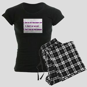 gremlin rules Women's Dark Pajamas