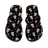 Basset hounds Flip Flops