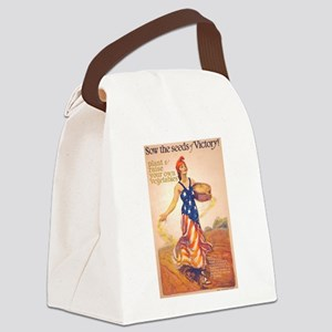 Sow Seeds Canvas Lunch Bag