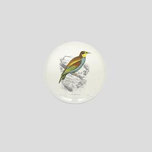 European Bee Eater Bird Mini Button
