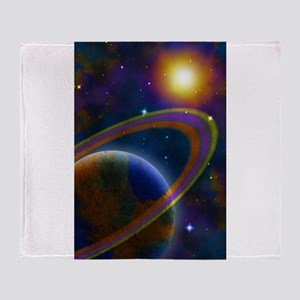 Cygnus X Throw Blanket