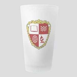 hearstshield Frosted Drinking Glass