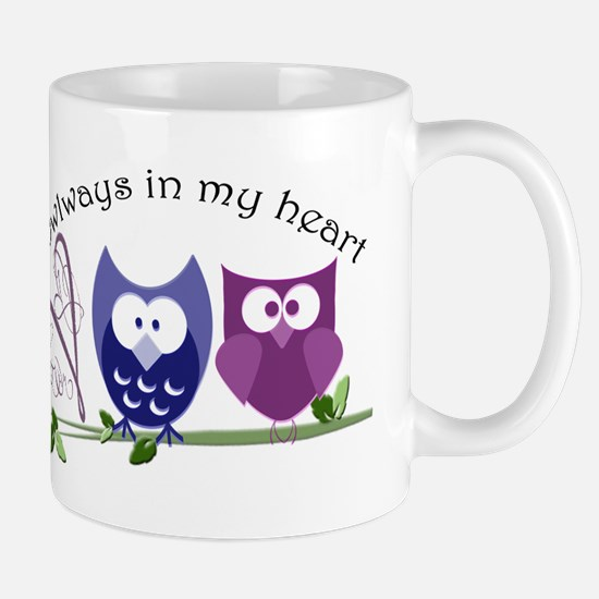 Owlways in my heart Mug