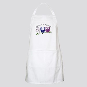 Owlways in my heart Apron