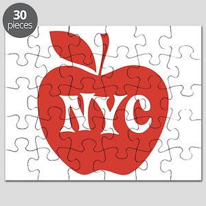 New York CIty Big Red Apple Puzzle