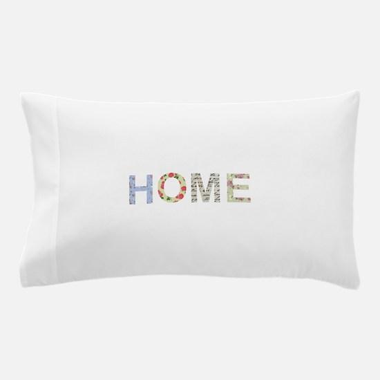Vintage Floral Home Pillow Case