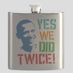 Yes We Did Twice! Flask