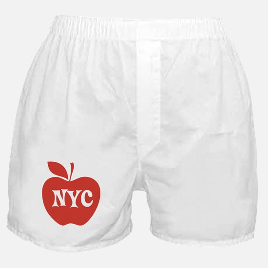 New York CIty Big Red Apple Boxer Shorts