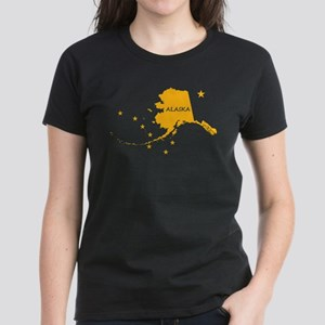 Just ALaska Gold Stars Women's Dark T-Shirt