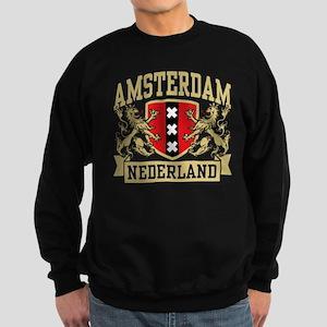 Amsterdam Nederland Sweatshirt (dark)