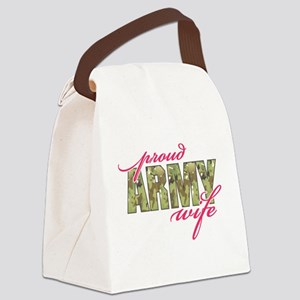 army wife multi cam Canvas Lunch Bag