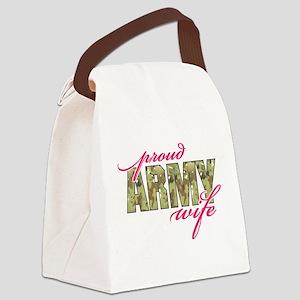 army wife multi cam Canvas Lunch Bag