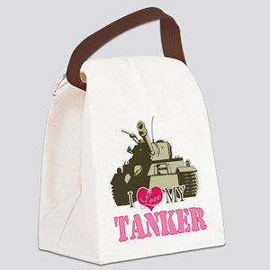 i love my tanker Canvas Lunch Bag