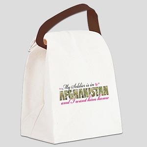 af soldier Canvas Lunch Bag