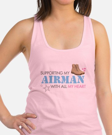 supporting2.png Racerback Tank Top