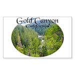 Gold Canyon Sticker (Rectangle 10 pk)
