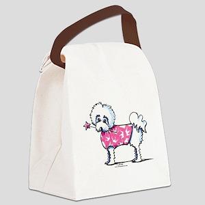 Maltese Princess Canvas Lunch Bag