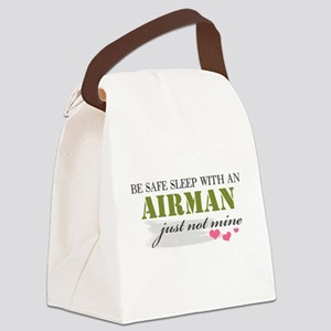 Be safe airman Canvas Lunch Bag