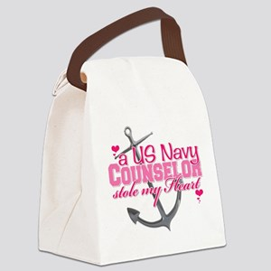 counselor Canvas Lunch Bag