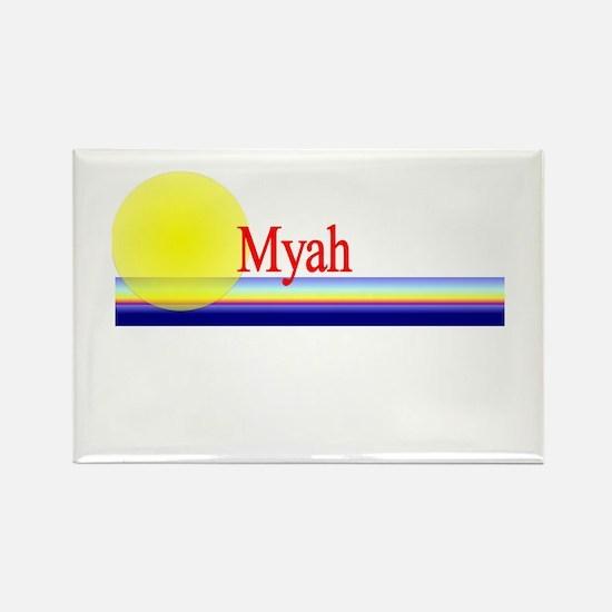 Myah Rectangle Magnet