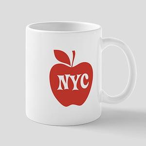 New York CIty Big Red Apple Mug