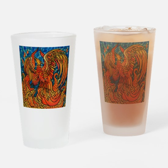 Hope for Rebirth Drinking Glass