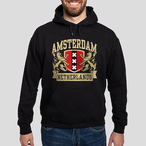 Amsterdam Netherlands Hoodie (dark)