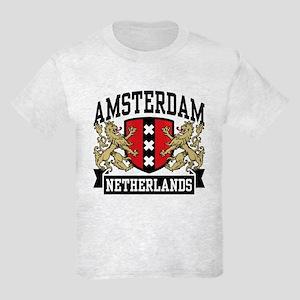 Amsterdam Netherlands Kids Light T-Shirt