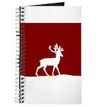 Deer in the snow Journal