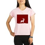 Deer in the snow Performance Dry T-Shirt