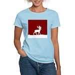 Deer in the snow Women's Light T-Shirt